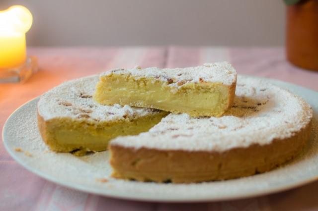 opskrifter italiensk mandelkage
