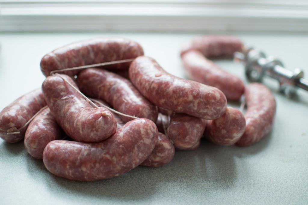 Hjemmelavede italienske pølser - Salamelle Mantovane